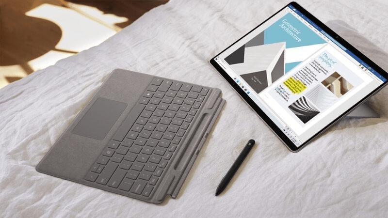 Surface Pro X có thời lượng pin thực tế là 13 giờ