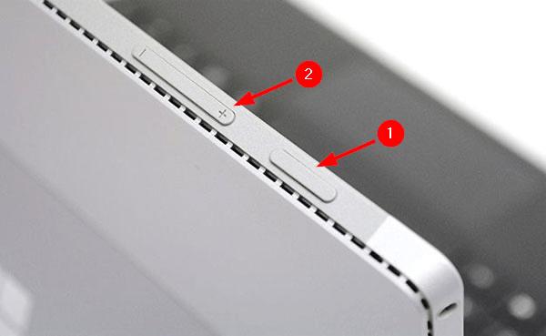 Đối với các dòng từ Surface Pro 4 trở đi, việc chụp màn hình đã trở nên dễ dàng hơn (Nguồn: Techrepublic)