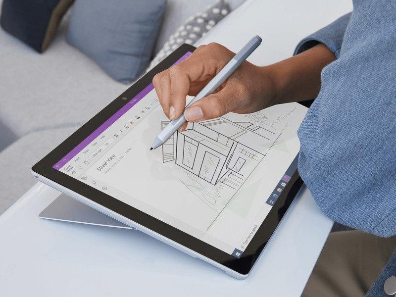 Với những phần mềm nặng đô, hãy cố gắng sở hữu Surface Pro 7 Plus chip i7 (Nguồn: Microsoft)
