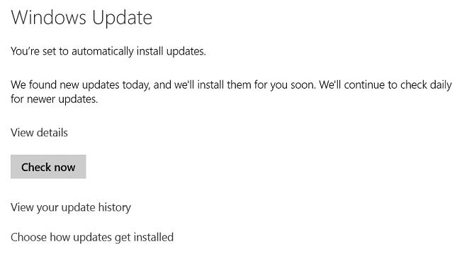 Luôn kiểm tra xem bạn đã update phiên bản mới nhất chưa (Nguồn: lovemysurface.net)