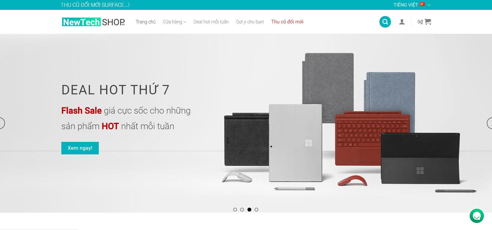 Giới thiệu về NewTechshop 11