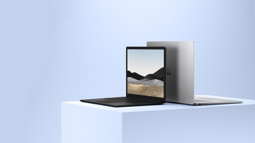 Màn hình Surface Laptop 4 được trang bị webcam 720p