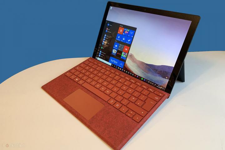 Cấu hình của Surface Pro 7 gồm i3, i5, i7