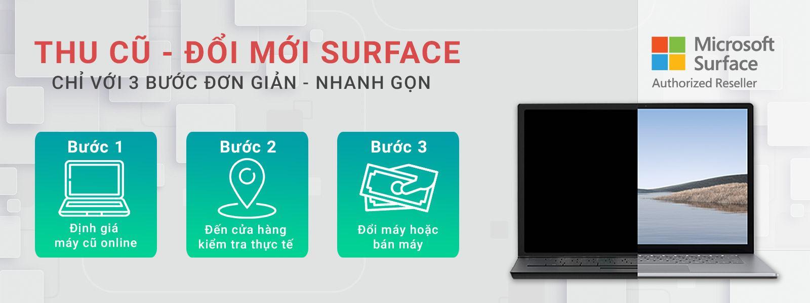 Thu cũ đổi mới Surface tại NewTechShop 30