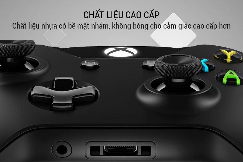 Tay cầm Wireless Xbox Controller màu đen Microsoft cực đỉnh 12