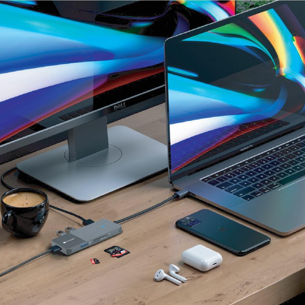 Mazer - Cổng chuyển đổi Infinite HUB 7 in 1 USB-C 10