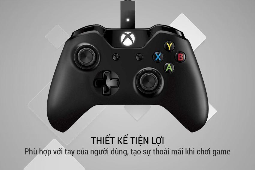 Tay cầm Wireless Xbox Controller màu đen Microsoft cực đỉnh 14