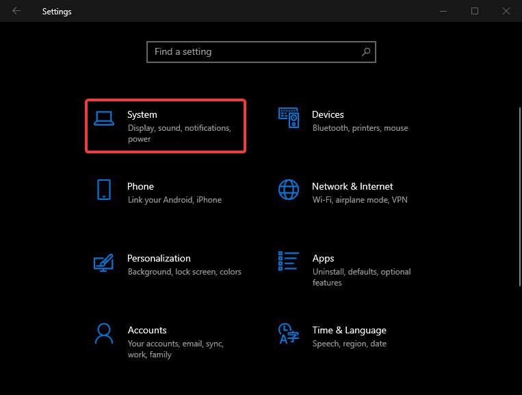 Cách bật tắt độ sáng màn hình trên Surface 4