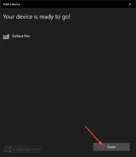 Làm thế nào để kết nối Surface Pen với chiếc Surface của bạn 12