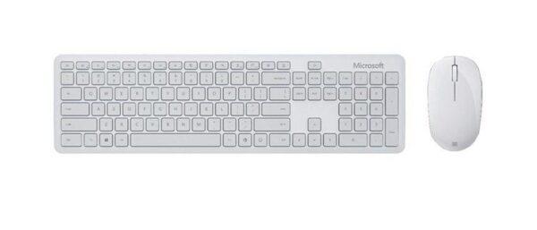 Bộ bàn phím, chuột Bluetooth Microsoft xám trắng 2