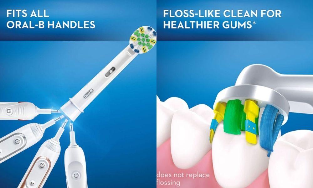 Đầu bàn chải điện Oral-B Floss Action chính hãng 8