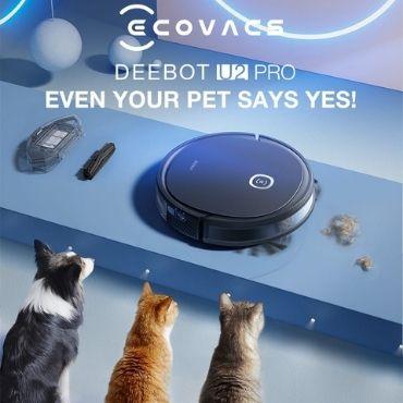 Robot Ecovacs DEEBOT U2 PRO