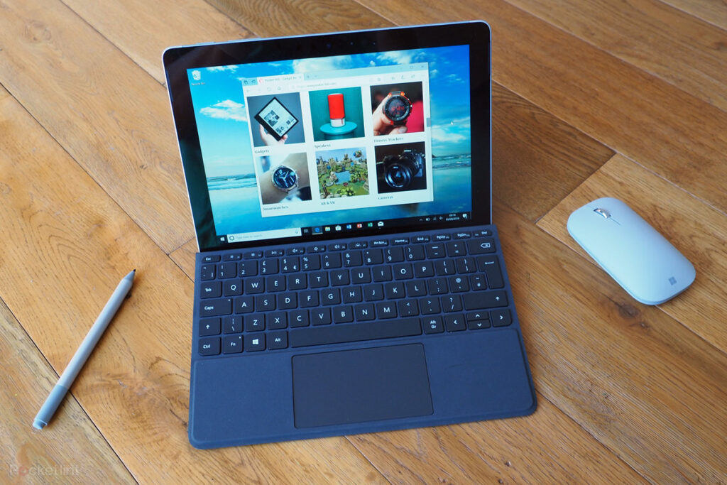 Chất lượng của Surface Go có thể sánh ngang với Surface Laptop