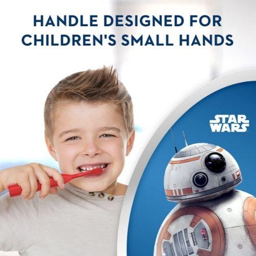 Bàn Chải Điện Trẻ Em Oral-B Junior Star Wars trang bị chế độ nhạy cảm đặc biệt
