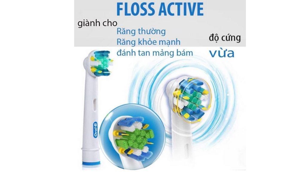 Đầu bàn chải điện Oral-B Floss Action chính hãng 12