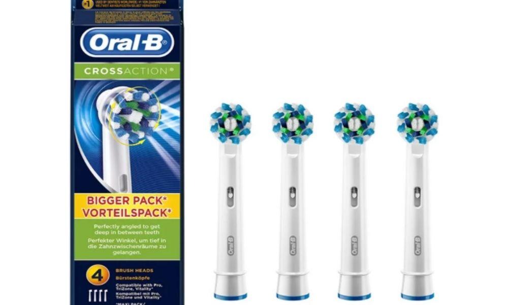 Đầu bàn chải điện Oral-B Cross Action chính hãng 8