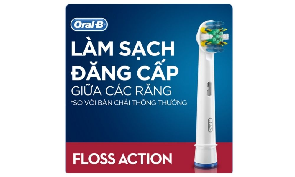 Đầu bàn chải điện Oral-B Floss Action chính hãng 10
