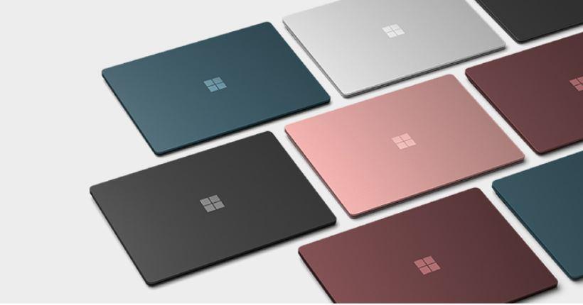 Màu sắc trên Surface laptop 4