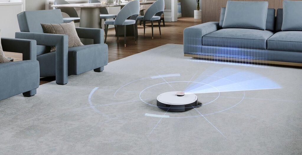 Robot Hút Bụi Lau Nhà Ecovacs Deebot T9