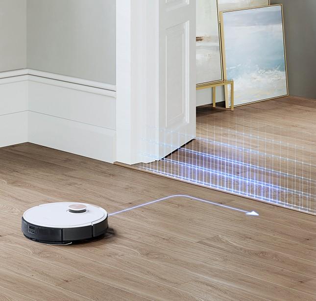 Robot Hút Bụi Lau Nhà Ecovacs DEEBOT OZMO T8
