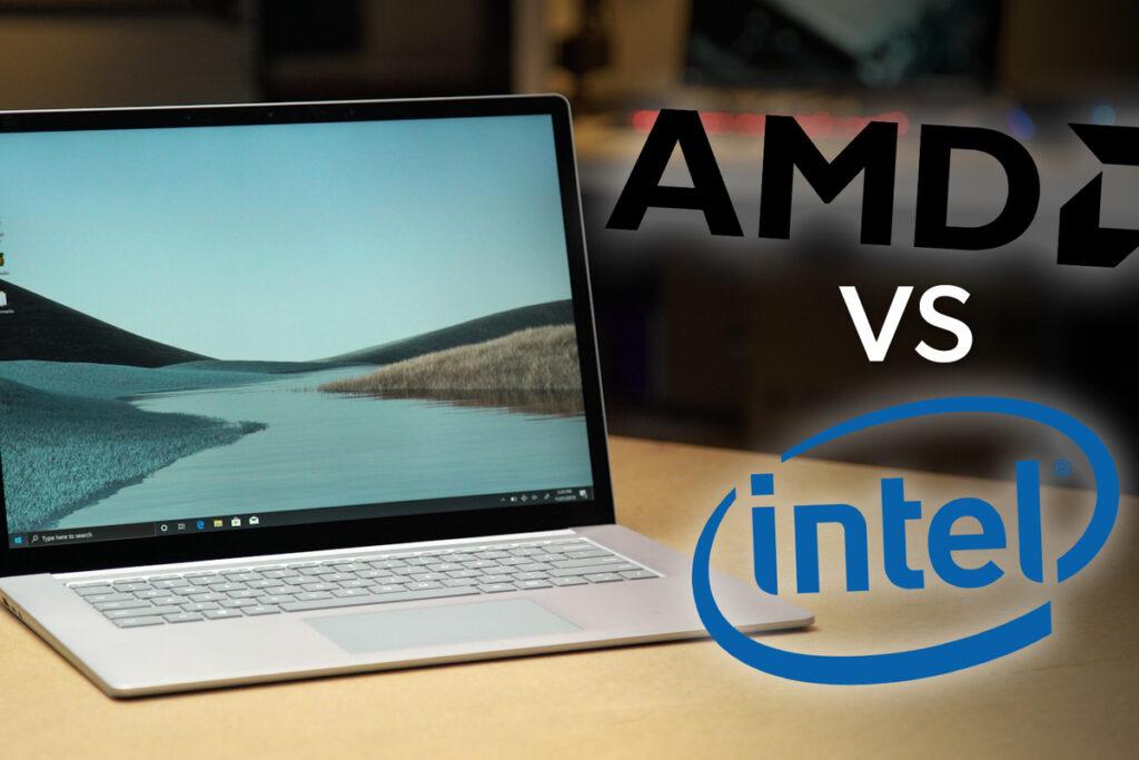 Sự lựa chọn trên Surface laptop 4 về con chip