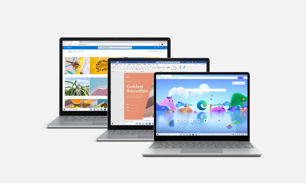"""Theo Microsoft thì Surface Laptop 4 đang có thời lượng pin thuộc dòng top trong """"họ hàng"""" Surface"""