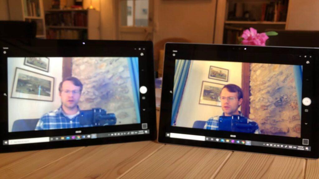 Phục vụ các cuộc họp online trên Surface Pro 7