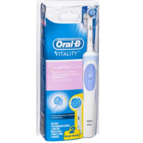 Bàn Chải Điện Oral-B Vitality Sensitive Clean Chính Hãng 4