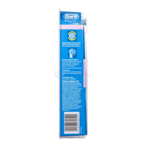 Bàn Chải Điện Oral-B Vitality Sensitive Clean Chính Hãng 3