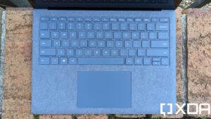 Cách Vệ Sinh Bàn Phím Alcantara Trên Surface Laptop 4 Đúng Nhất 44
