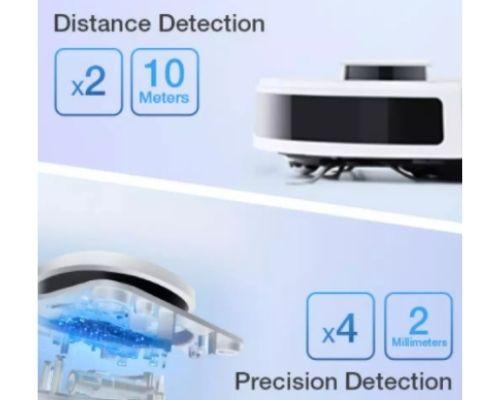 Robot Hút Bụi Lau Nhà Ecovacs Deebot N8 Pro Plus