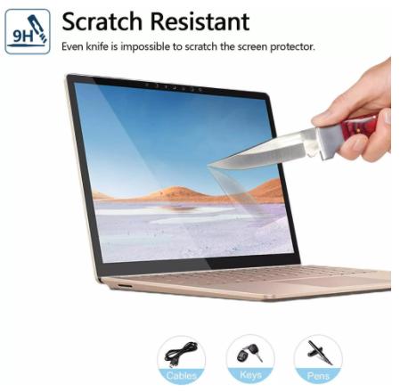 """Kính cường lực Surface Laptop GO 12.4"""" - NT026 10"""