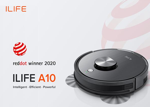 Robot hút bụi ILIFE A10 được trao giải Red Dot Award Design 2020
