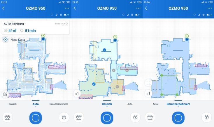 Ecovacs Deebot Ozmo 950còn cung cấp bản đồ nhiều tầng