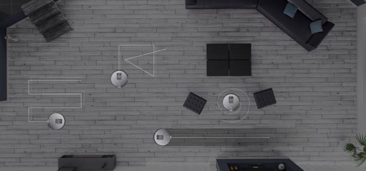 Các chế độ vệ sinh của robot hút bụi ILIFE V80C