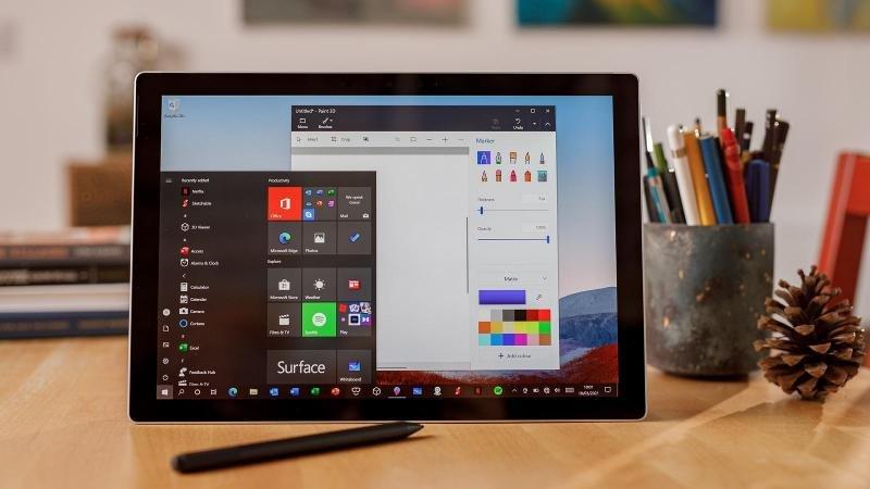 Surface Pro 7 plus phù hợp với doanh nghiệp