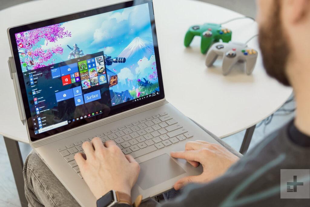 Hiệu năng được nâng cấp trên Surface Book 2