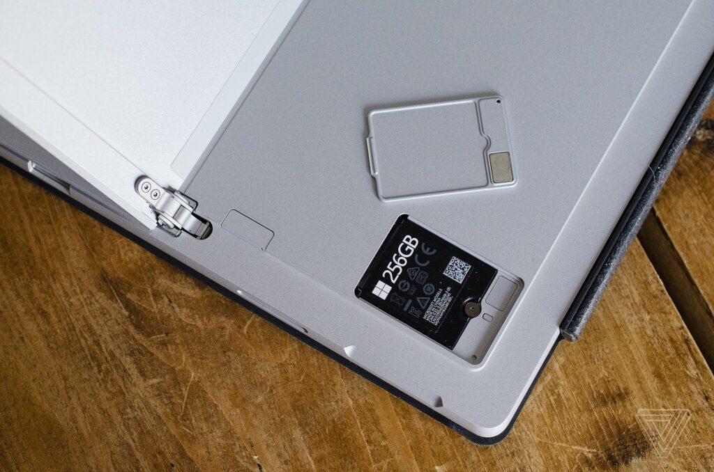 Nâng cấp SSD trên Surface Pro 7 Plus