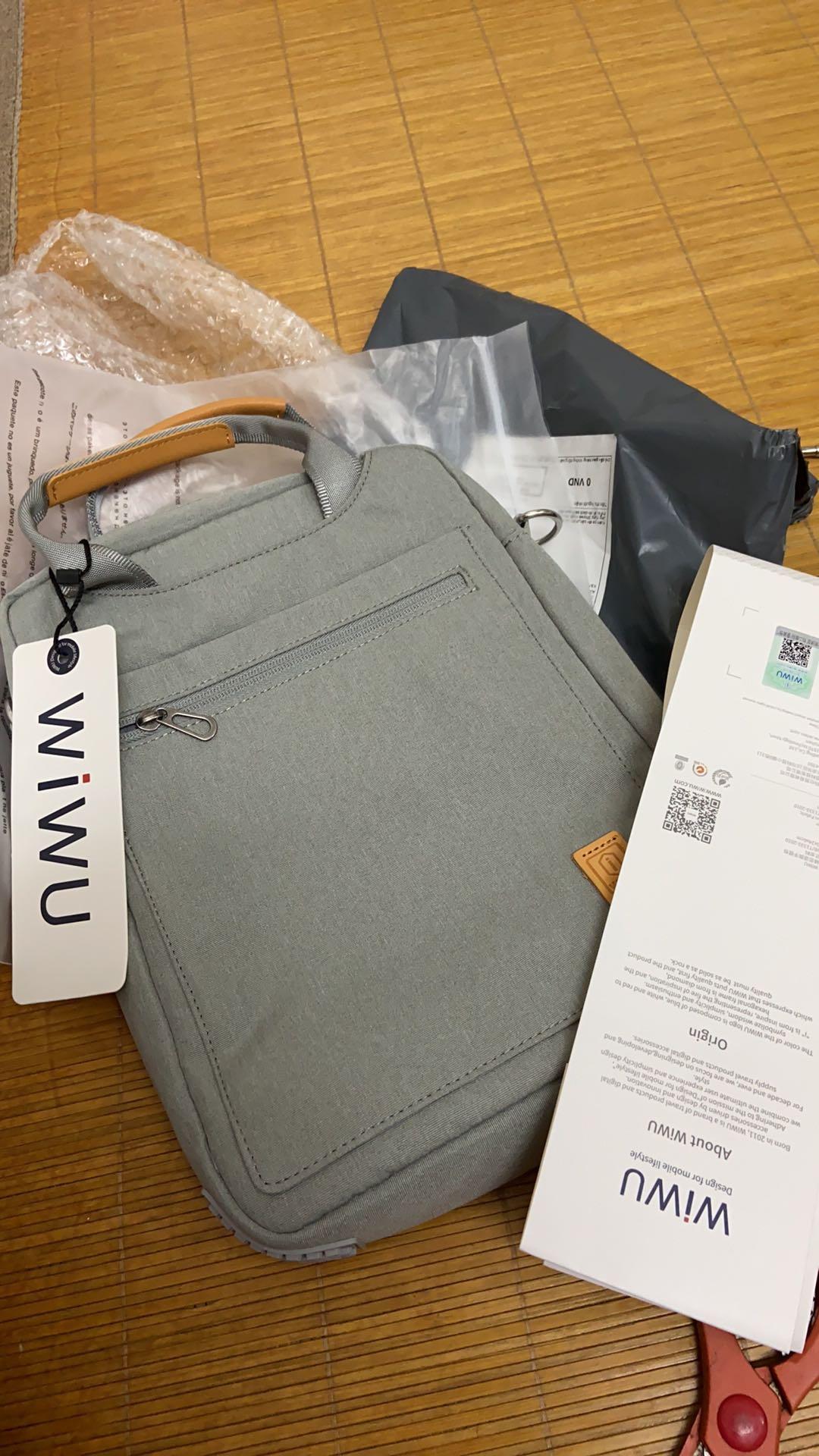 """Túi chống sốc Laptop WIWU 13"""" - NT031 8"""