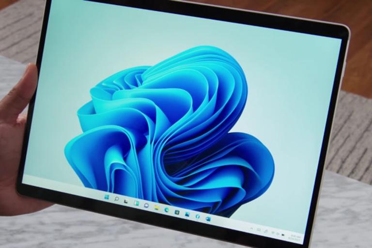 Màn hình tràn viền Surface Pro X