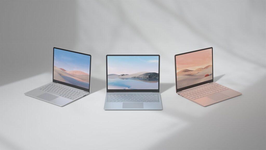 Surface Laptop trang bị màn hình cảm ứng