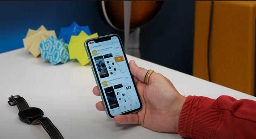 ứng dụng samsung galxywatch trên iphone 2021