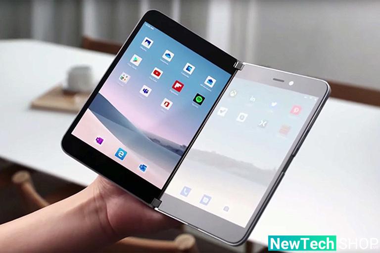 Hai màn hình riêng biệt của Surface Duo 2