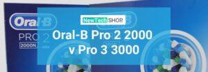 So sánh Oral B Pro 2 2000 và Pro 3 3000