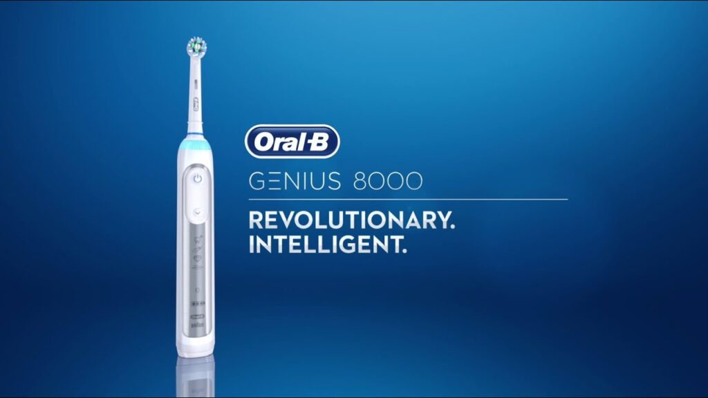 Đánh giá bàn chải điện Oral B Pro 8000 1